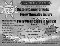 History Camp for Kids