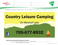 Camping Lots for rent