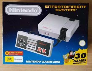 Nintendo Classic Mini (Brand new & DISCONTINUED) Melbourne Region Preview