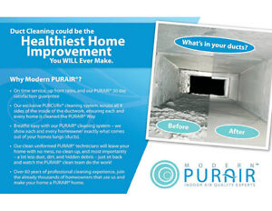 Furnace and Air Duct Cleaning - Modern PURAIR® North Shore Greater Vancouver Area image 1