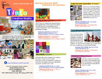 Summer Art Programs for Kids & Adults at Tinto Studio