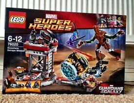 Lego Guardians of the Galaxy Knowhere Escape Mission New