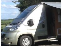 Screen Covers for Fiat Ducato, Peugeot Boxer, Citroen Relay Motorhome from 2007 onwards