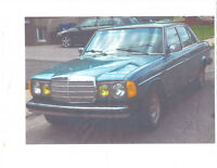 1982 Mercedes-Benz 300-Series D Berline