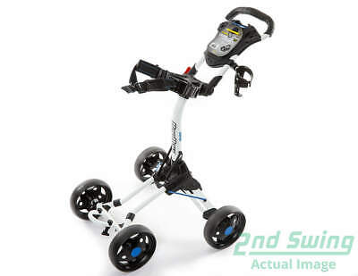 Brand New Bag Boy Quad Jr Golf Push Pull Cart White Works for Adults Ships Fast