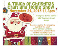 A Touch of Christmas Show in Guelph Accepting Vendords