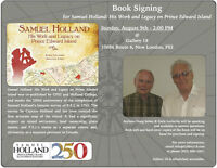 Samuel Holland - Work & Legacy - Book Signing @ Gallery 18