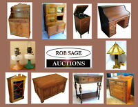 ROB SAGE SATURDAY NIGHT LIVE COUNTRY ANTIQUE AUCTION!