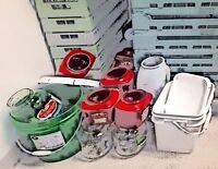 More Than 20 Pails, Jugs & Jars