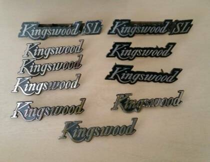 Holden HQ HJ HX HZ Kingswood car badges