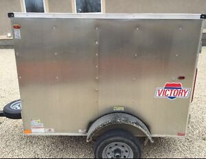2015 Interstate Victory 4 ft x 6 ft enclosed trailer