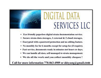 DIGITAL STRATA DOCUMENTATION SERVICE