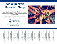 Social Drinkers wanted for Alcohol Research Study