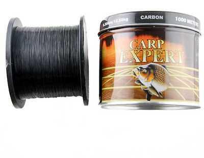 CARP EXPERT CARBON monofile Angelschnur 0,30/ 1000m 12,10kg Karpfenschnur Sehne