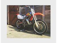 Honda cr125 (1999 amazing condition)
