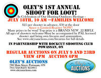 Oley's Auctions 1st Annual Shoot For Loot!