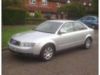 Audi A4 turbo diesel pd130 new tyres and full service history