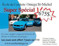 *****SUPER SPÉCIAL 675$ POUR COURS COMPLET!!!*****