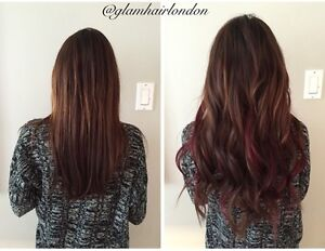 Glam Hair Studio offers high quality, affordable hair extensions London Ontario image 8