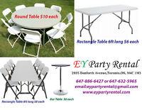 Table Rent---Chair Rent---Tent Rent