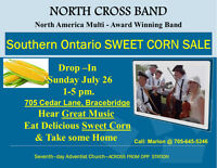 North Cross Band & Southern Ontario Sweet Corn