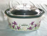Rival Crock-Pot Oval Stoneware Slow Cooker 4.5 QT Model 3745