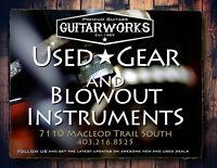 Guitar , USED , Gibson , Fender , Martin ,Taylor  ,Marshall