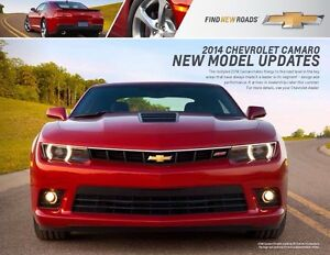 WANTED: 2014 Chevrolet Camaro brochure