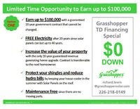 SOLAR POWER  EARN UP TO $200,000