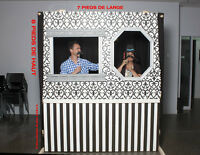 Mur de Photo Booth ou décor de marionnette