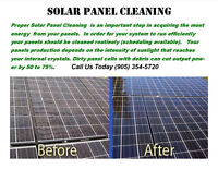 Solar Panel Cleaning ~ Commercial and Residential
