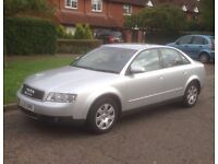 Audi A4 turbo diesel pd130 new tyres and Audi alloys