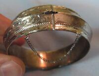 Art Deco Vintage Designer Solid Sterling Silver Bracelet