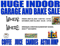 Immanuel Christian School Garage and Bake Sale - May 22 & 23