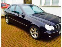 Mercedes c180 2007 reg FSH 47,000 genuine miles for sale ��4550 or Swap/Px Audi BMW etc