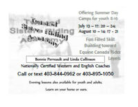 Twisted Sisters Riding Academy Summer Camps