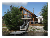 Executive Waterfront with In-law Suite , 30 min to Sudbury!