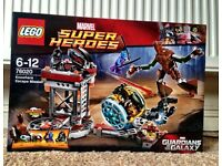 Lego Superheroes Knowhere Escape Mission New