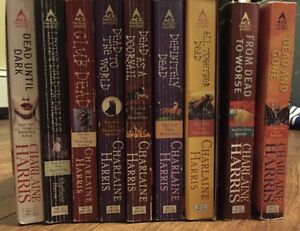 Sookie Stackhouse series up to Dead and Gone (9 books)
