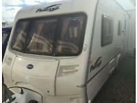 Bailey pageant moselle 2005 4 berth touring caravan