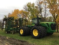 Custom cultivating/NH3 anhydrous ammonia application