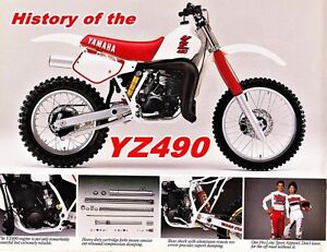 Wanted 1985 & newer yz 490