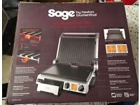 The Sage Smart Grill Pro 2400w by Heston Blumenthal boxed in good condition £300 new