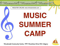 MUSIC SUMMER CAMPS !
