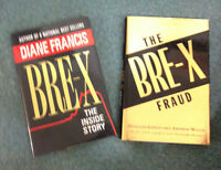 2 hardcover books about Bre-X, one with autograph!