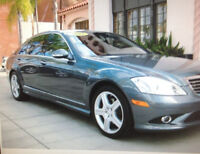 2009 Mercedes-Benz 500-Series Grey Sedan S550 AMG PKGE