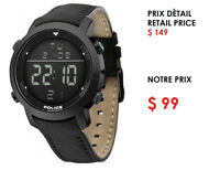 POLICE WATCHES , GARANTIE 5 YEARS !! STARTING AT $89
