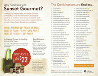 Fundraising with Sunset Gourmet