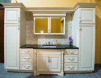 Armoires de salle de bain en bois  , $249