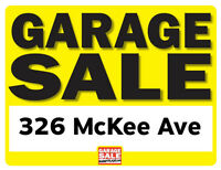 Garage Sale 1 Day Only! July 4th 8am-2pm (326 McKee Ave)